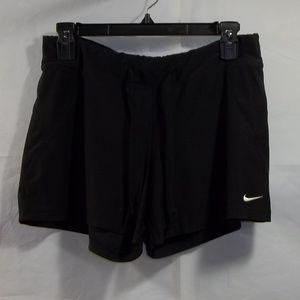 Nike Performance Shorts Elastic Black Size M 8-10